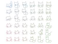 machine generated cats