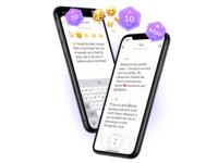 Diem - Daily journal swiftui swift design ui app ios iphone journal