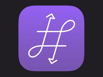 New #Hashup Icon & Branding