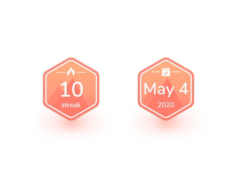 Carpe Badges badge ui app ios iphone