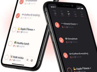 Carpe 2.0 carpe todo routine habit design ui app ios iphone