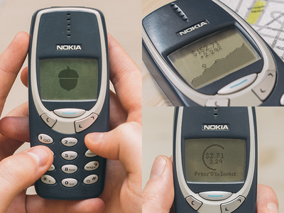 Acorns - Nokia 3390 nokia 3390 acorns retro phone mobile