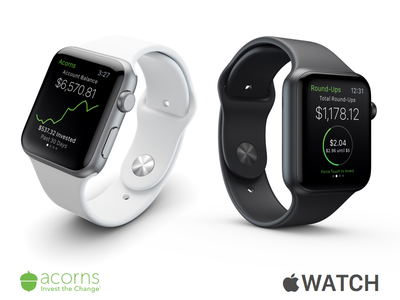 Acorns - Apple Watch ios app watch acorns apple watch