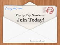 Play by Play - Newsletter