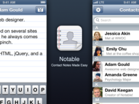 Notable - Contact Notes Made Easy