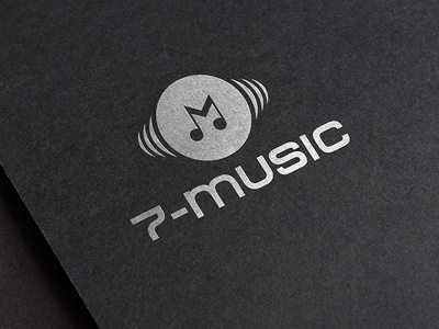 Music Brand Logo icon vector web ux typography feminine logo feminine logo design feminine design branding design animation music brand music logo music brand logo