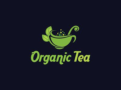 Organic Tea Logo logo design branding logo design process logo design concept logo design tea logo app icon logo typography feminine logo design feminine logo design animation branding