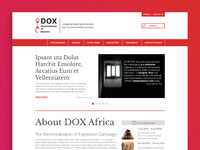 DOX Africa Website