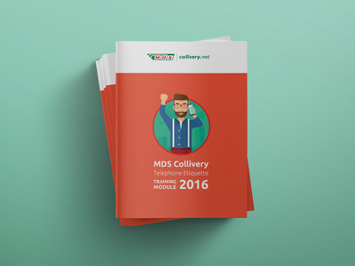 MDS Collivery Telephone Etiquette Training Manual - Cover