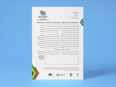 SAWF Interactive PDF Form