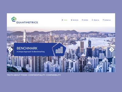QuantiMetrics Website
