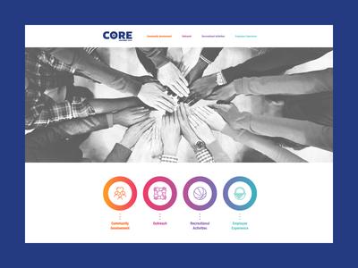 Core Website Concept