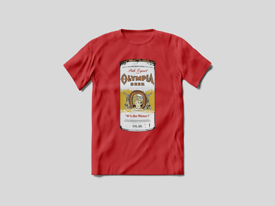Kurt Cobain T-Shirt lake horseshoe good luck lucky redbubble ale pale band t-shirt nirvana red kurt cobain classic vintage beer