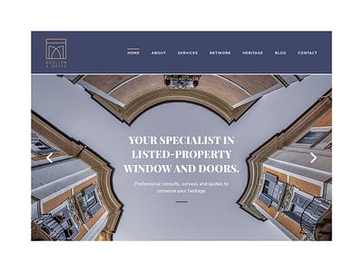 Boulton & Boyce Website quote testimonials blog icon set icons survey gold blue doors windows ui  ux ui design uidesign uiux ui website design web design webdesign website web