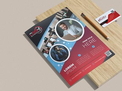 Flyer Design 3d business flyer app flat logo ux vector ui illustration graphic design design branding flyer design