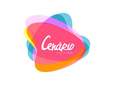 Cenário Cultural • Branding Design logo brand color illustration typography design magazine fashion culture