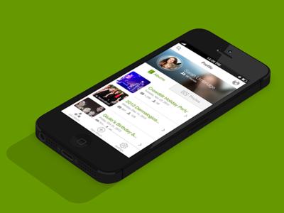 Eversnap • iOS Profile View