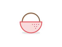 Lychee • Icon Logo
