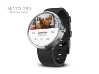 Moto 360 Music Player