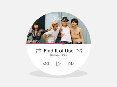 Moto 360 Music Player