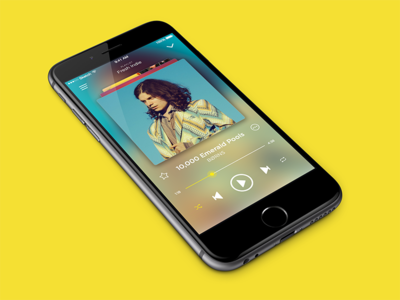 Music app • Song view