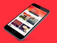 Music app • Playlist view