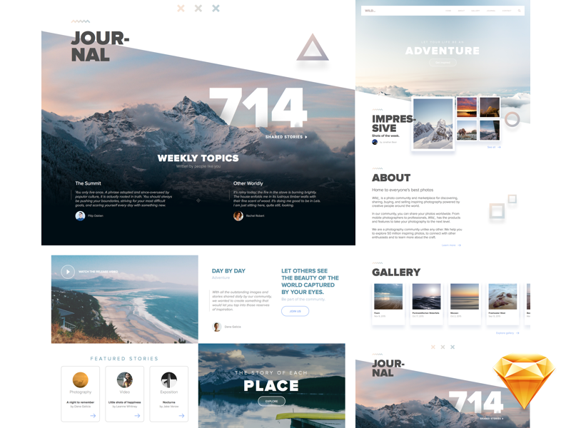 Wild website free template for sketch by jardson almeida wild website free template for sketch by jardson almeida dribbble maxwellsz
