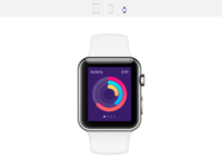 Apple watch   activity monitor by jardson almeida