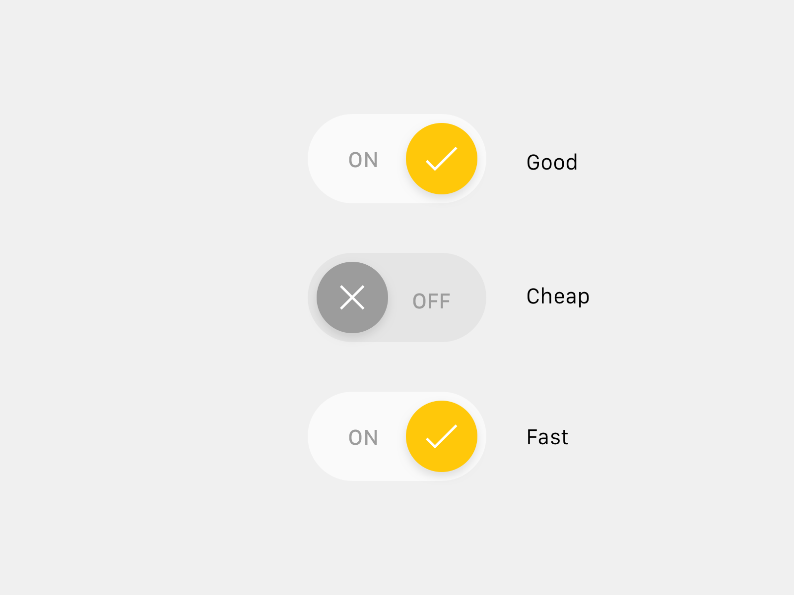 Good cheap fast by jardson almeida