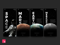Exploring The Space –Made with InVision Studio