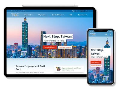 Taiwan Gold Card platform accessibility alpinejs hugo vuejs ux ui jamstack design