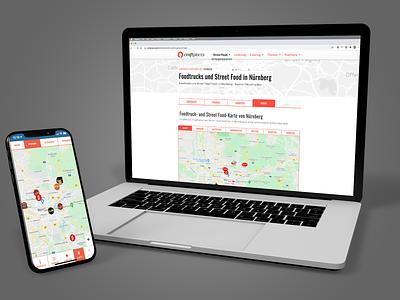 Craftplaces City View (2018) website ux ui design