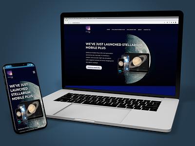 Stellarium Labs (2021) ux ui design