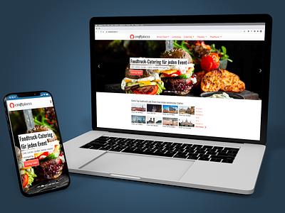 Craftplaces Website (2018) ux ui design