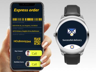 DailyUi#2 « Express order design daily-ui
