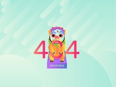 DailyUi#3 « 404 Page 404 error page 404-error 404 page gradient color daily 100 daily 100 challenge dailui