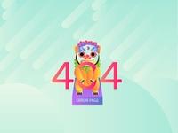 DailyUi#3 « 404 Page