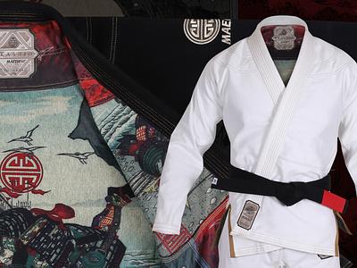 Jiu Jitsu Kimono Design jiu jitsu wrestling mma brazilian jiu jitsu illustration bjj jiu-jitsu design branding