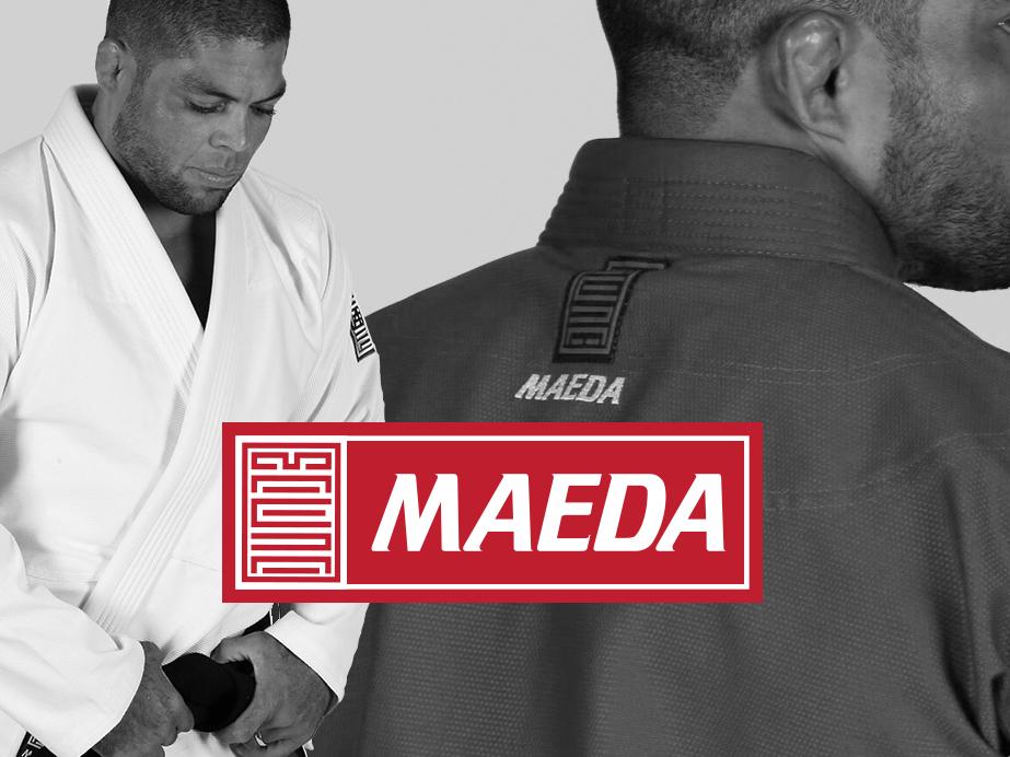 Maeda Red Label mma grappling jiu jitsu brazilian jiu jitsu wrestling logo bjj branding jiu-jitsu