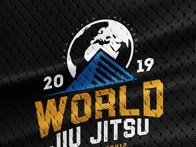 2019 World Jiu Jitsu Championship illustration jiu jitsu bjj jiu-jitsu brazilian jiu jitsu shirt design tee