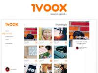 iVoox Redesign Concept