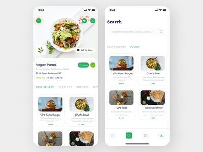 Food recipe App news food app uidesign uiux designs new art flat ui ux design app