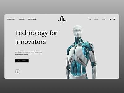 Technology web uxdesign uidesign uiux technology news typography new designs ux ui design