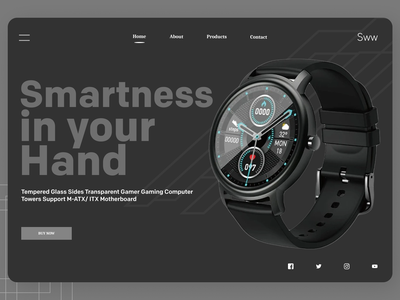 Smart Watches online branding uidesign uiux typography new designs ui ux design