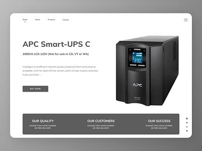 UPS Web Design branding online uidesign uiux new designs app ux ui design