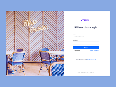 Interior Web Design Login branding online uidesign typography new uiux designs design ui ux