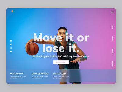 Championship typography online uidesign new app uiux designs design ux ui
