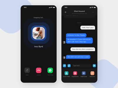 Social media App minimal design ux ui app