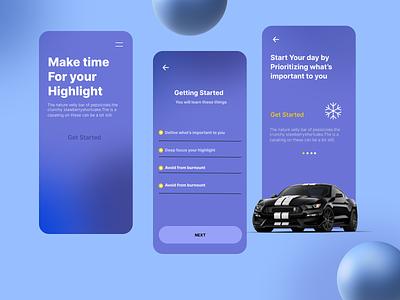 Cars App online trendy ui design new uidesign uiux app design art ux ui design app
