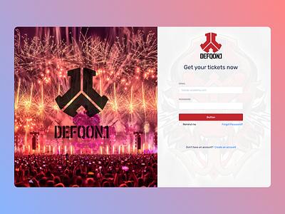 Online tickets typography uiux minimal branding online new web ux ui design